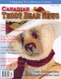 Canadian Teddy Bear News Magazine Cover